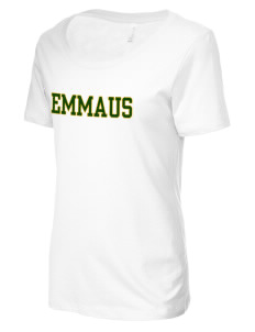 Emmaus High School Hornets Women's Short-Sleeve Scoop Neck T-Shirt