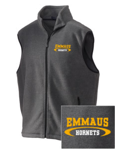 Emmaus High School Hornets Embroidered Unisex Wintercept Fleece Vest