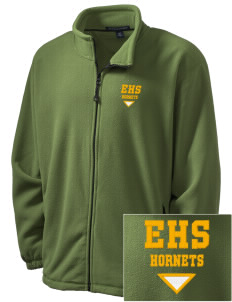 Emmaus High School Hornets Embroidered Men's Wintercept Fleece Full-Zip Jacket