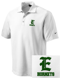 Emmaus High School Hornets Embroidered Nike Men's Dri-FIT Pique II Golf Polo