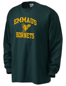 Emmaus High School Hornets Men's Long Sleeve T-Shirt