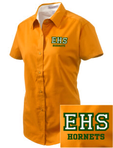 Emmaus High School Hornets Embroidered Women's Easy Care Short Sleeve Shirt