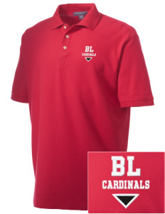 Barrett Learning Center Cardinals Embroidered Men's Performance Plus Pique Polo