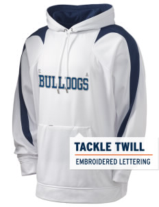 Colleton Middle School Annex Bulldogs Holloway Men's Sports Fleece Hooded Sweatshirt with Tackle Twill