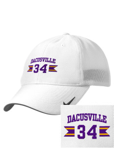 Dacusville Middle School Waves Embroidered Nike Golf Mesh Back Cap