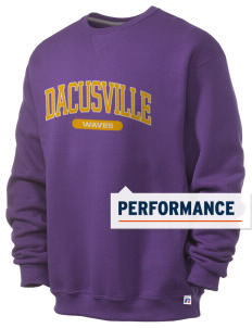 Dacusville Middle School Waves  Russell Men's Dri-Power Crewneck Sweatshirt