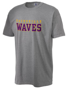 Dacusville Middle School Waves  Russell Men's NuBlend T-Shirt