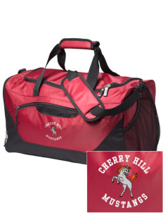 Cherry Hill Elementary School Mustangs Embroidered Holloway Chill Medium Duffel Bag
