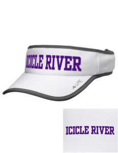 Icicle River Middle School Mountain Lions Embroidered Lite Series Active Visor