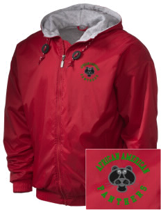 African American Academy Panthers Embroidered Holloway Men's Hooded Jacket