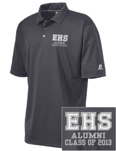 Eastlake High School Wolves Embroidered Russell Coaches Core Polo Shirt