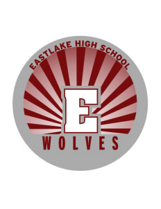Eastlake High School Wolves Sticker