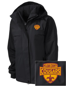 McLean County Middle School Cougars  Embroidered Women's Nootka Jacket