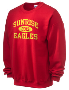 Sunrise School Eagles Ultra Blend 50/50 Crewneck Sweatshirt