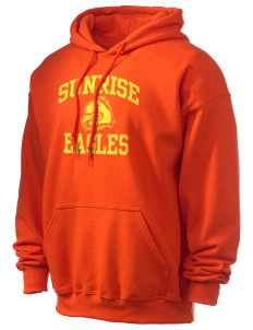 Sunrise School Eagles Ultra Blend 50/50 Hooded Sweatshirt