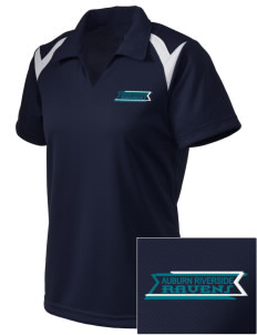Auburn Riverside High School Ravens Embroidered Holloway Women's Laser Polo
