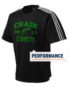 Crain Middle School Comets adidas Men's ClimaLite T-Shirt