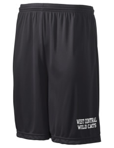 "West Central Middle School Wild Cats Men's Competitor Short, 9"" Inseam"