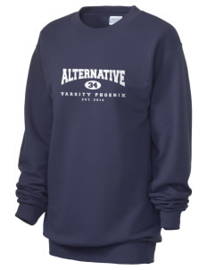 Alternative Academy Phoenix Unisex 7.8 oz Lightweight Crewneck Sweatshirt