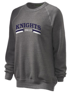 Saint Christopher Academy Knights Unisex Alternative Eco-Fleece Raglan Sweatshirt