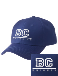 Brookside Christian Junior High School Knights  Embroidered New Era Adjustable Structured Cap