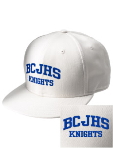 Brookside Christian Junior High School Knights  Embroidered New Era Flat Bill Snapback Cap