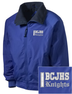 Brookside Christian Junior High School Knights Embroidered Men's Fleece-Lined Jacket