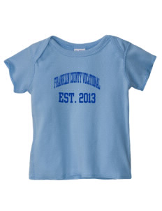 Franklin County Vocational Center Bulldogs  Baby Lap Shoulder T-Shirt