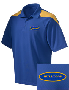 Franklin County Vocational Center Bulldogs Embroidered Holloway Men's Frequency Performance Pique Polo