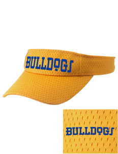 Franklin County Vocational Center Bulldogs Embroidered Woven Cotton Visor