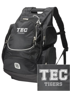 Cumberland County Technical Education Center Tigers  Embroidered OGIO Bounty Hunter Backpack