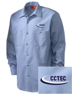Cumberland County Technical Education Center Tigers Embroidered Men's Industrial Work Shirt - Regular