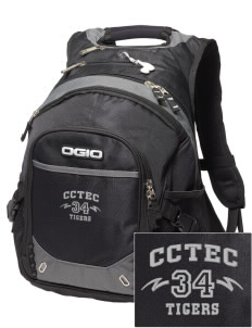 Cumberland County Technical Education Center Tigers Embroidered OGIO Fugitive Backpack
