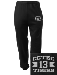 Cumberland County Technical Education Center Tigers Embroidered Men's Sweatpants with Pockets