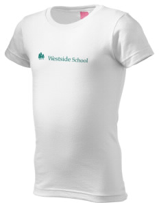 Westside School School  Girl's Fine Jersey Longer Length T-Shirt