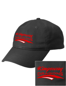 Kingsway Middle School Dragons  Embroidered New Era Adjustable Unstructured Cap