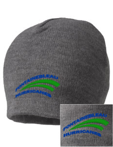Fontainebleau Junior High School Hurricanes Embroidered Beanie