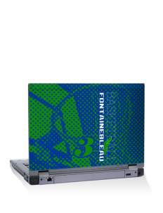 "Fontainebleau Junior High School Hurricanes 15"" Laptop Skin"