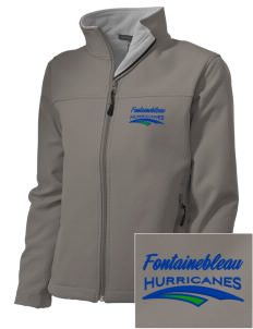 Fontainebleau Junior High School Hurricanes Embroidered Women's Soft Shell Jacket