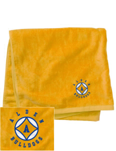 Alden Middle School Bulldogs Embroidered Beach Towel