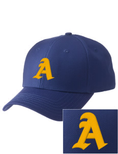 Alden Middle School Bulldogs  Embroidered New Era Adjustable Structured Cap