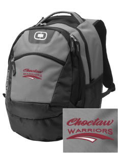 Choctaw Middle School Warriors Embroidered OGIO Rogue Backpack