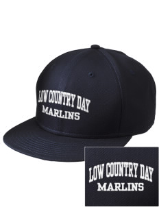 Low Country Day School Marlins  Embroidered New Era Flat Bill Snapback Cap