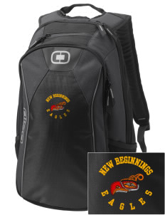 New Beginnings School Eagles Embroidered OGIO Marshall Backpack