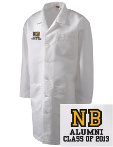 New Beginnings School Eagles Full-Length Lab Coat