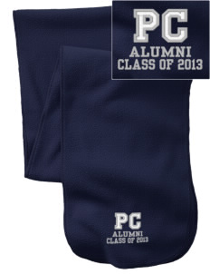 Penns Creek Elementary School Panthers  Embroidered Extra Long Fleece Scarf