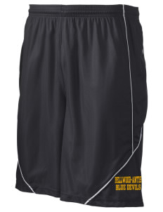 "Bellwood-Antis Middle School Blue Devils Men's Pocicharge Mesh Reversible Short, 9"" Inseam"