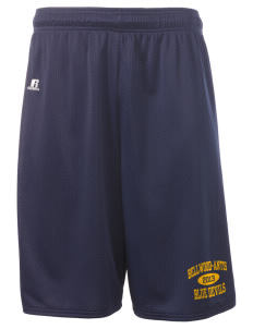 "Bellwood-Antis Middle School Blue Devils  Russell Deluxe Mesh Shorts, 10"" Inseam"