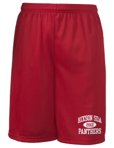 "Hixson SDA School Panthers Long Mesh Shorts, 9"" Inseam"