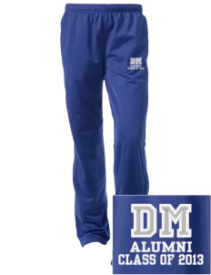 Del Mar Elementary School Dolphins Embroidered Women's Tricot Track Pants